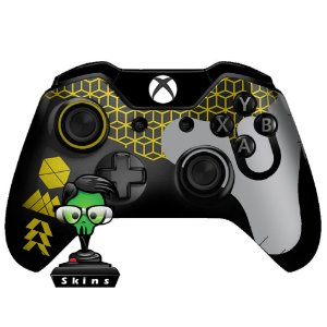 Sticker de Controle Xbox One Destiny Texture Yellow