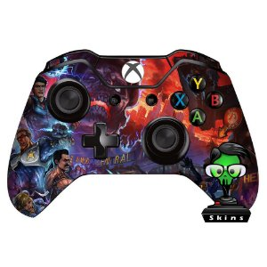 Sticker de Controle Xbox One Cod Black Ops Nuke Blue