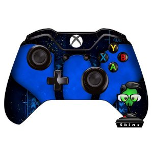 Sticker de Controle Xbox One Destiny Blue Mod 02