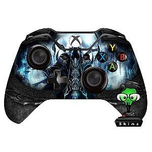 Sticker de Controle Xbox One Diablo Reaper Souls Preto