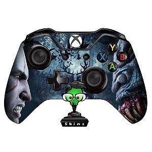 Sticker de Controle Xbox One The Witcher Mod 03
