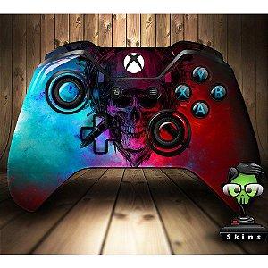 Sticker de Controle Xbox One Skull Color