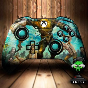 Sticker de Controle Xbox One Bioshock Mod 01