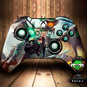 Sticker de Controle Xbox One Scalebound Mod 01