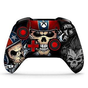 Sticker de Controle Xbox One Skull Garage