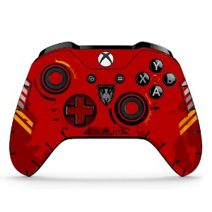Sticker de Controle Xbox One Call Of Duty Red Edition