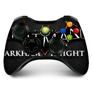 Adesivo de Controle XBOX 360 Batman Arkham knight Mod 01