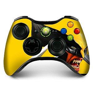 Adesivo de Controle XBOX 360 Wolverine Mod 01