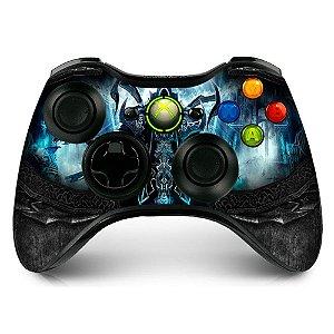 Adesivo de Controle XBOX 360 Diablo Reaper Souls Black