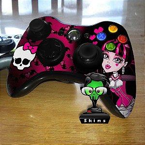 Adesivo de Controle XBOX 360 Monster Hight Mod 01