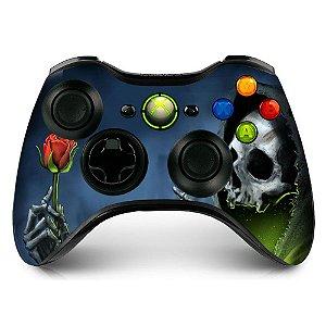 Adesivo de Controle XBOX 360 Skull Rose