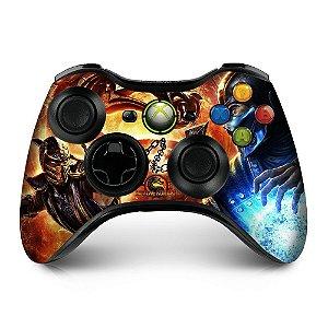 Adesivo de Controle XBOX 360 Mortal Kombat Mod 04