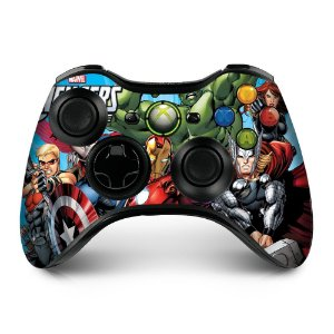 Adesivo de Controle XBOX 360 Avengers Mod 02