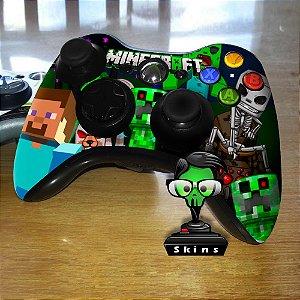 Adesivo de Controle XBOX 360 Minecraft Mod 01