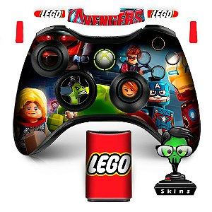 Adesivo de Controle XBOX 360 Lego Avengers