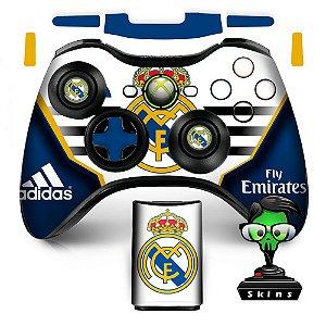 Adesivo de Controle XBOX 360 Real Madrid Mod 02