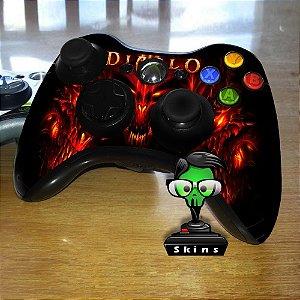 Adesivo de Controle XBOX 360 Diablo Mod 01