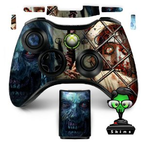 Adesivo de Controle XBOX 360 The Walking Dead Mod 01