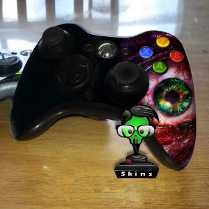 Adesivo de Controle XBOX 360 Resident Evil Mod 07