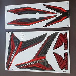 Faixa Honda CG 150 Fan ESi 2013 Edição Especial Moto Preta Cod 1107