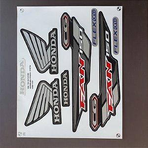 Faixa Honda CG 150 Fan ESDi 2015 Para todas as Cores de moto Cod 1198