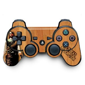 Adesivo de Controle PS3 Red Dead Redemption Mod 01