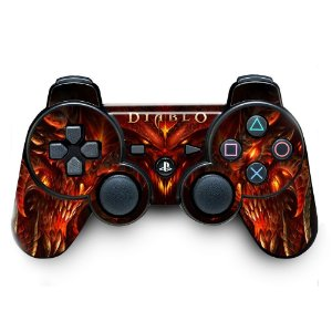 Adesivo de Controle PS3 Diablo Mod 01
