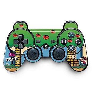 Adesivo de Controle PS3 Mario Yoshi Mod 01