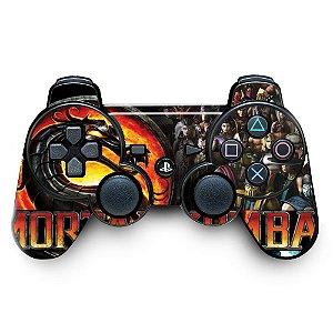 Adesivo de Controle PS3 Mortal Kombat Mod 01