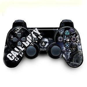 Adesivo de Controle PS3 Call Of Duty Mod 01