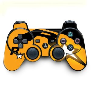 Adesivo de Controle PS3 Rockstar Mod 01