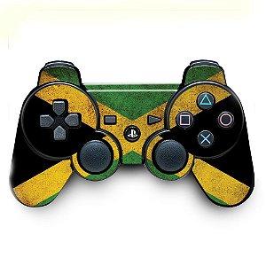 Adesivo de Controle PS3 Jamaica Flag Mod 01