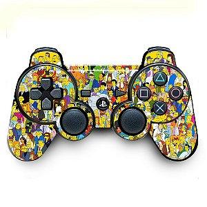Adesivo de Controle PS3 The Simpsons Mod 01