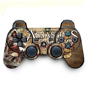 Adesivo de Controle PS3 Assassins Creed Mod 04