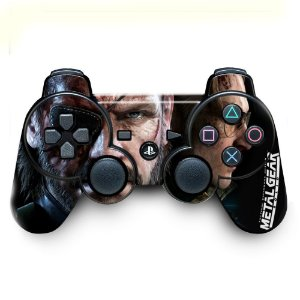 Adesivo de Controle PS3 Metal Gear Mod 01