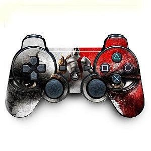 Adesivo de Controle PS3 God Of Wars Mod 01
