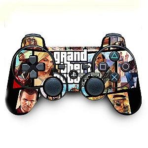 Adesivo de Controle PS3 GTA Mod 03