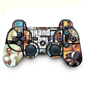 Adesivo de Controle PS3 GTA Mod 05