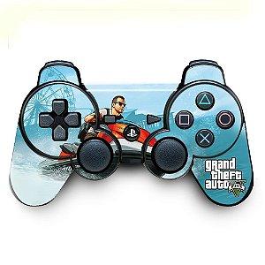 Adesivo de Controle PS3 GTA Mod 06