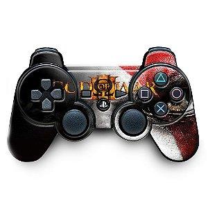Adesivo de Controle PS3 God Of Wars Mod 03