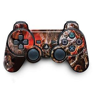 Adesivo de Controle PS3 God Of Wars Mod 04