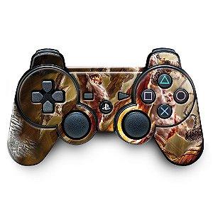 Adesivo de Controle PS3 God Of Wars Mod 06