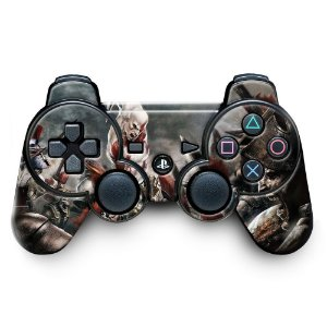 Adesivo de Controle PS3 God Of Wars Mod 07