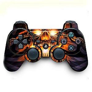 Adesivo de Controle PS3 Egipt Skull