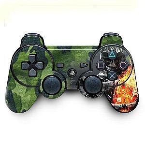 Adesivo de Controle PS3 BF Camouflage Slull