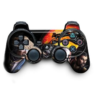 Adesivo de Controle PS3 Mortal Kombat Mod 03