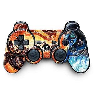 Adesivo de Controle PS3 Mortal Kombat Mod 05