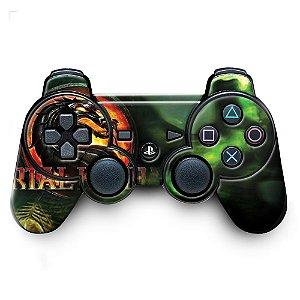 Adesivo de Controle PS3 Mortal Kombat Mod 06