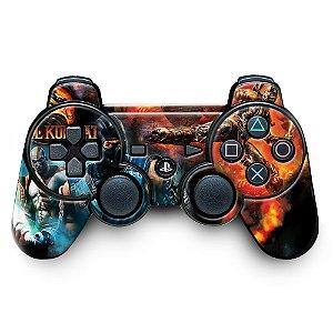 Adesivo de Controle PS3 Mortal Kombat Mod 09