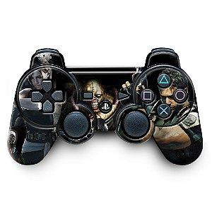 Adesivo de Controle PS3 Resident Evil Mod 02